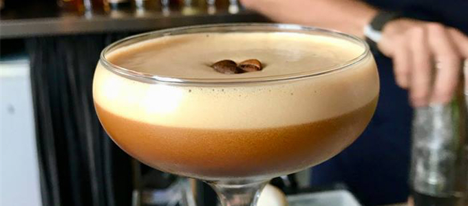 Maeve Fox Unique Espresso Martinis
