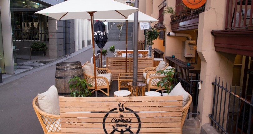 Sydney s best laneway bars for The balcony bar sydney